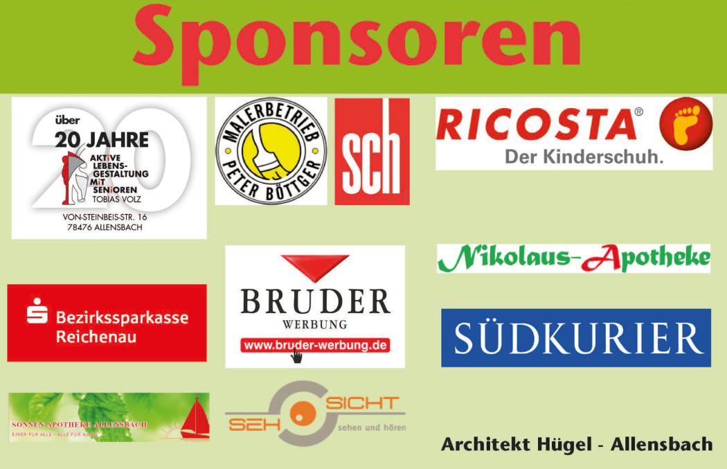 Die Sponsoren des Pfoten-weg-Aktionstags in Allensbach
