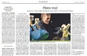 Pfoten weg im Oktober 2014 in der Schwäbischen Zeitung