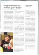 Pfoten weg in der Mitgliederzeitschrift des Weißen Rings